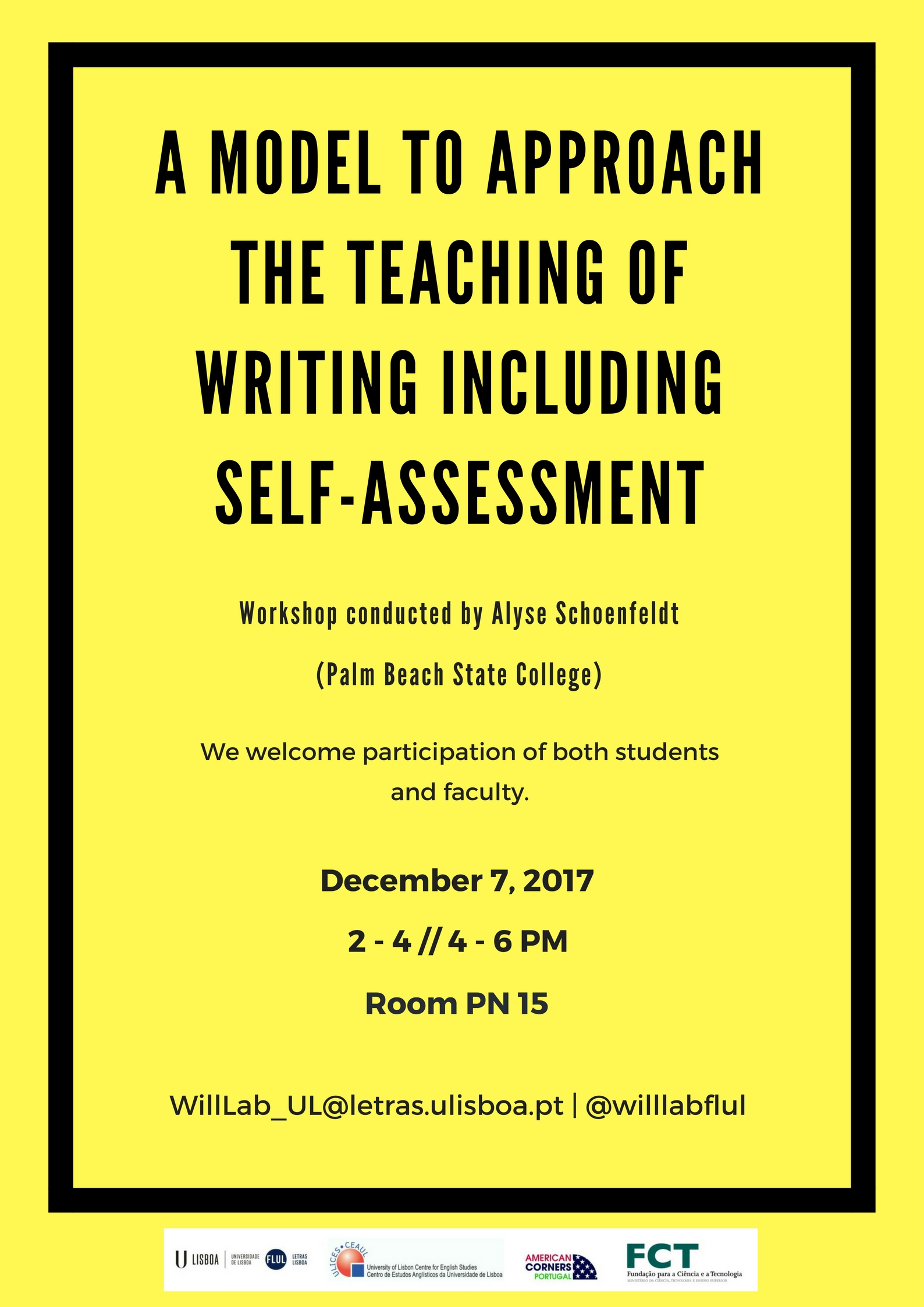 workshop a model to approach the teaching of writing